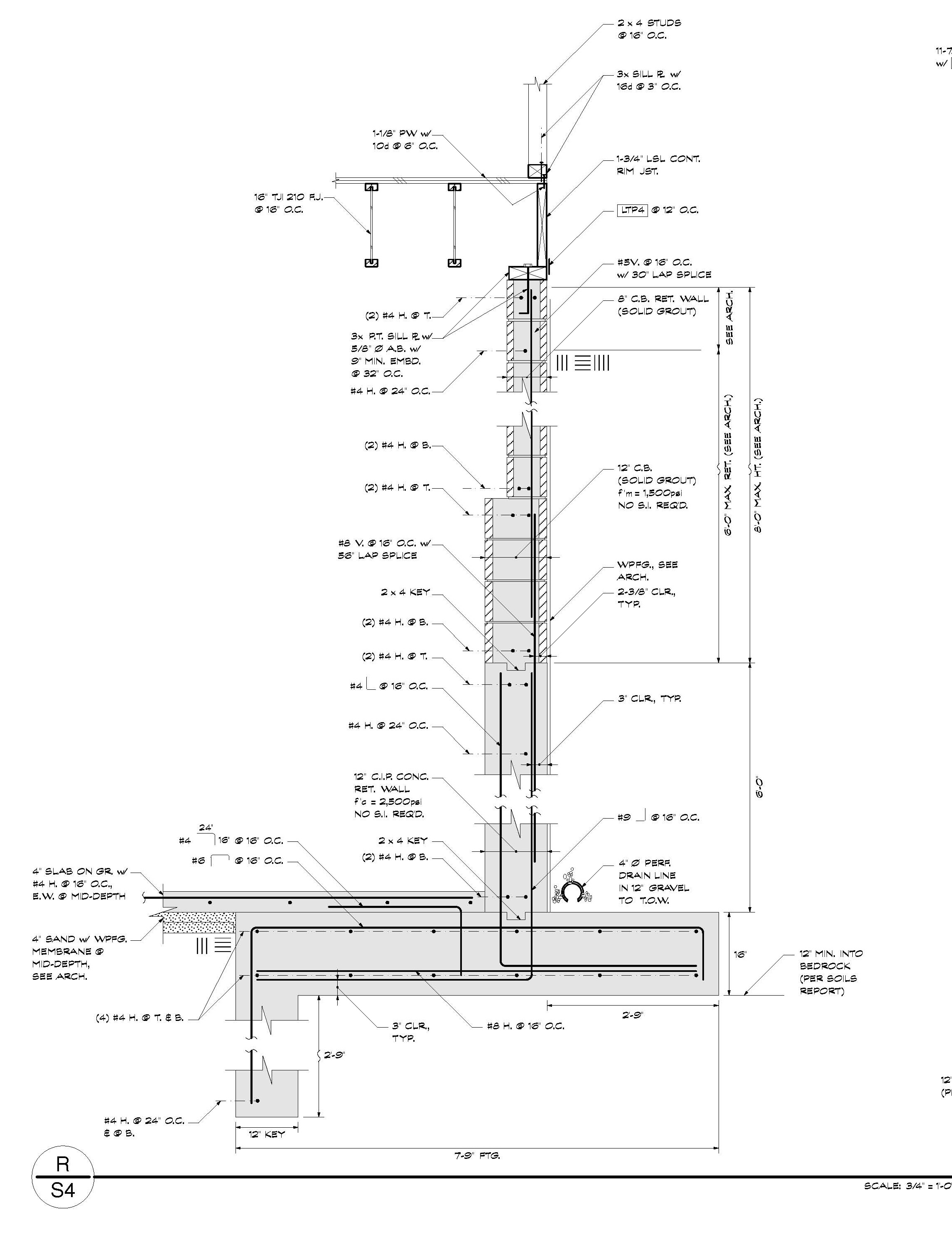 100 reinforcing basement walls patent us7757445 precast con