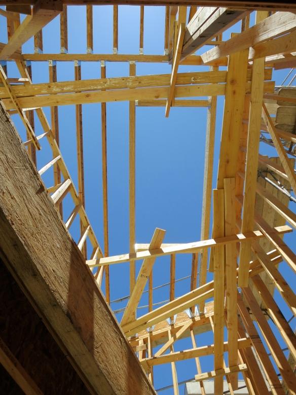 Through the Roof | buildingahillsidehome