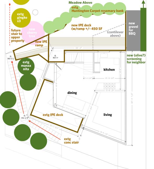 Deck Plan, 620 Frontenac